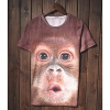 Trend Животные печати серии шорты LangTuo Мужская (Цвет экрана) (44) #01279768